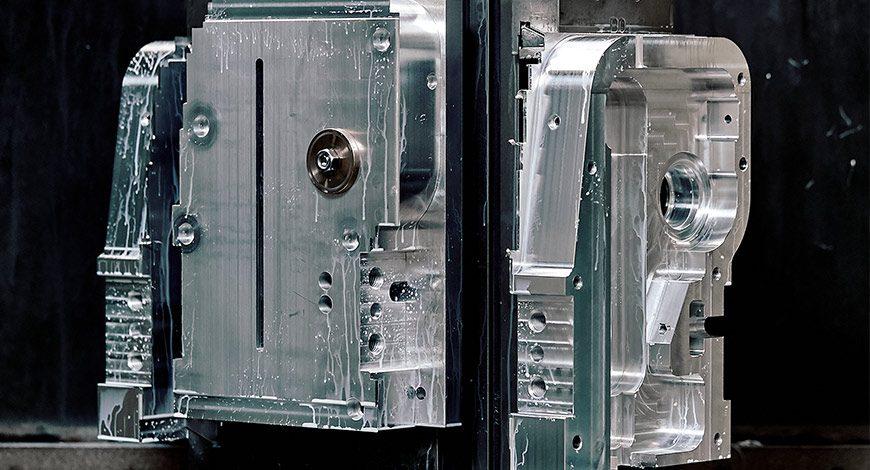reparto di lavorazioni di fresatura di precisione meccanica cnc amedeo lugli