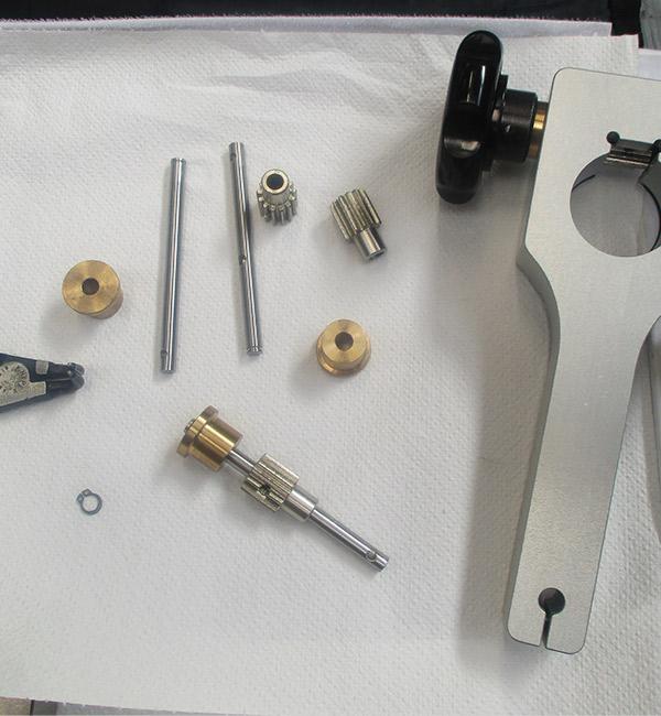 LAM assemblaggio parti meccaniche di precisione cnc