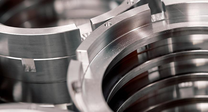 componenti di precisione meccanica per packaging