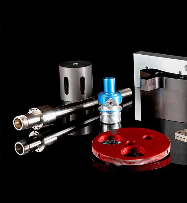 lavorazioni complementari di parti di precisione meccanica cnc